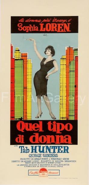 That Kind of Woman Quel Tipo Di Donna Original Vintage Movie Poster