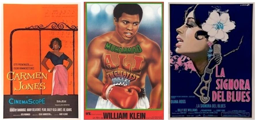 Black Cast Original Vintage Movie Poster