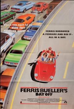 Ferris Buellers Day Off Original Vintage Movie Poster