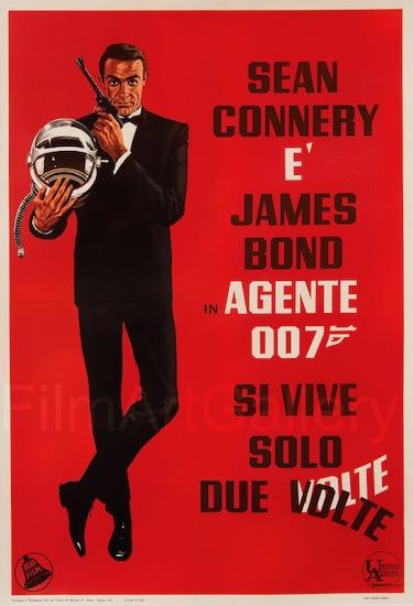 You Only Live Twice James Bond 007 Original Vintage Movie Poster