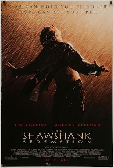 The Shawshank Redemption Original Vintage Movie Poster