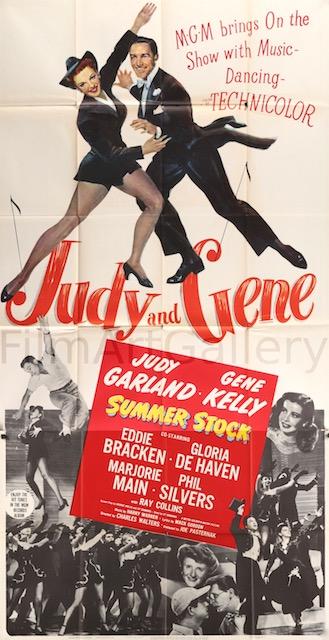 Summer Stock Original Vintage Movie Poster