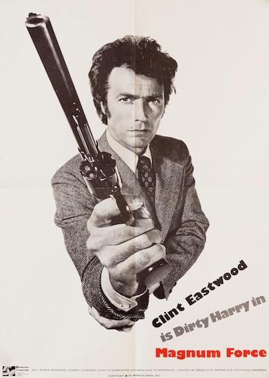 Clint Eastwood Magnum Force Original Vintage Movie Poster