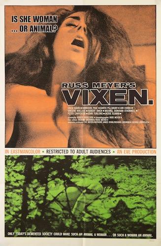Vixen Original Vintage Movie Poster
