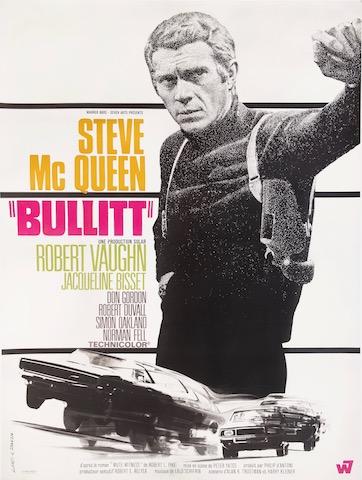 Steve McQueen Vintage Movie Poster