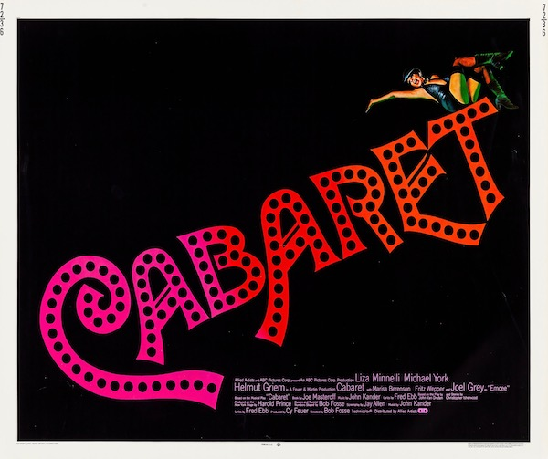 Cabaret Liza Minelli Original Vintage Movie Poster