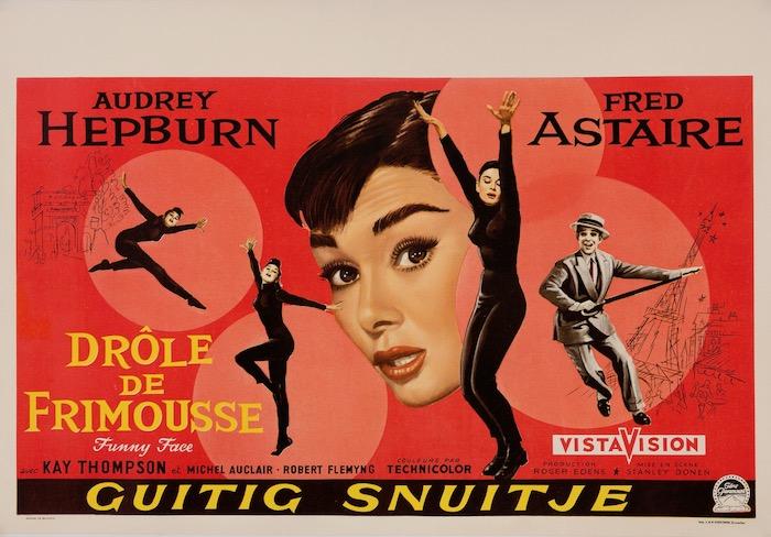 Audrey Hepburn Funny Face Original Vintage Movie Poster