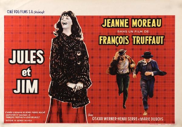 Jules Et Jim Original Vintage Movie Poster