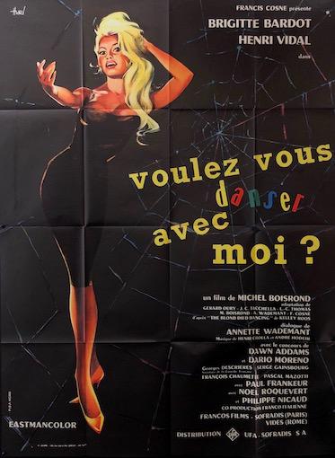 Come Dance With Me Original Vintage Movie Poster