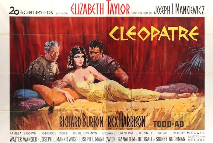 Elizabeth Taylor Cleopatra Original Vintage Movie Poster
