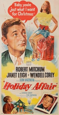 Holiday Affair Original Vintage Movie Poster