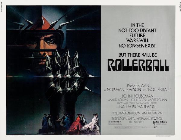 Rollerball Original Vintage Movie Poster