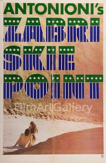 Sabriskie Point Original Vintage Movie Poster