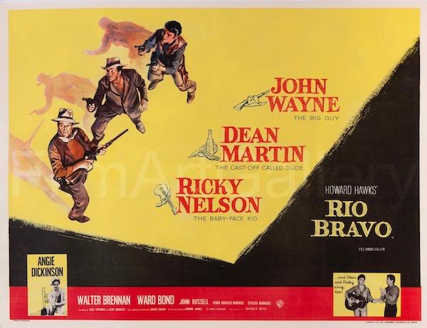 Rio Bravo Original Vintage Movie Poster