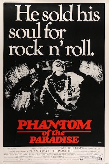 Phantom of the Paradise Original Vintage Movie Poster