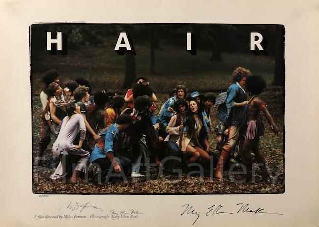 Hair Original Vintage Movie Poster