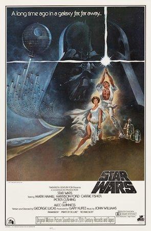 Star Wars Vintage Original Movie Poster