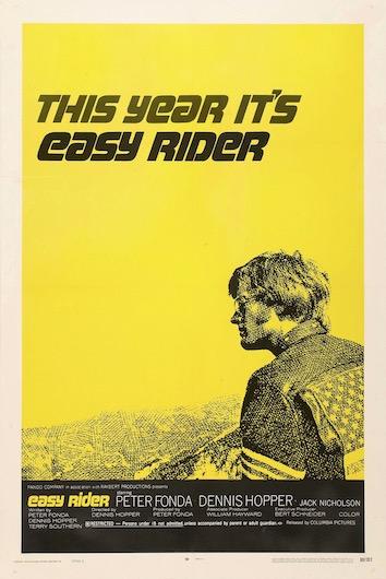 Easy Rider Original Vintage Movie Poster