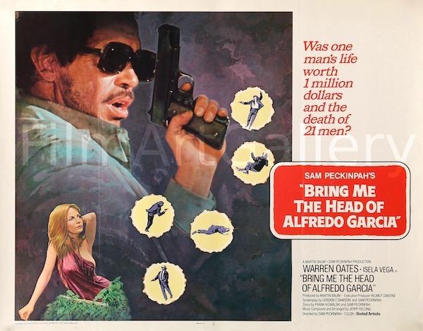 Bring Me the Head of Alfredo Garcia Vintage Original Movie Poster