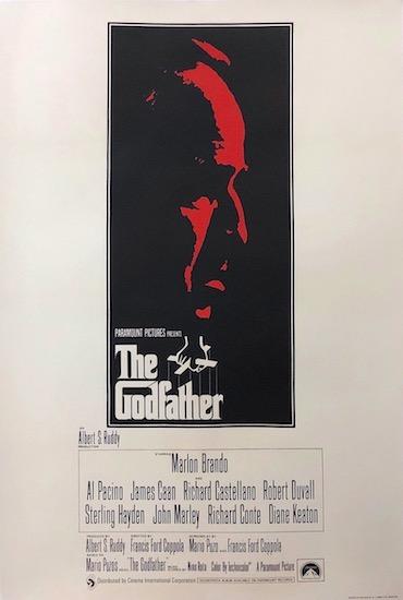 The Godfather Original Vintage Movie Poster