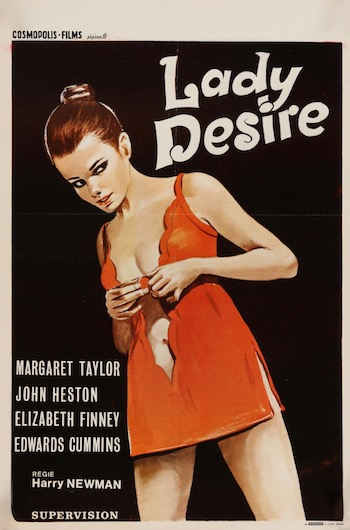 Lady Desire Original Vintage Movie Poster