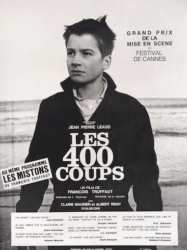 The 400 Blows Original Vintage Movie Poster