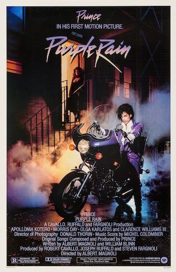 Purple Rain Prince Original Vintage Movie Poster