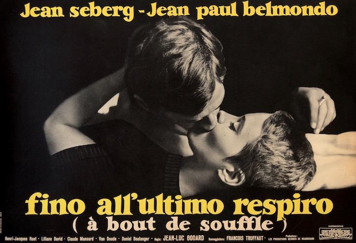 Breathless A Bout De Souffle Vintage Original Movie Poster