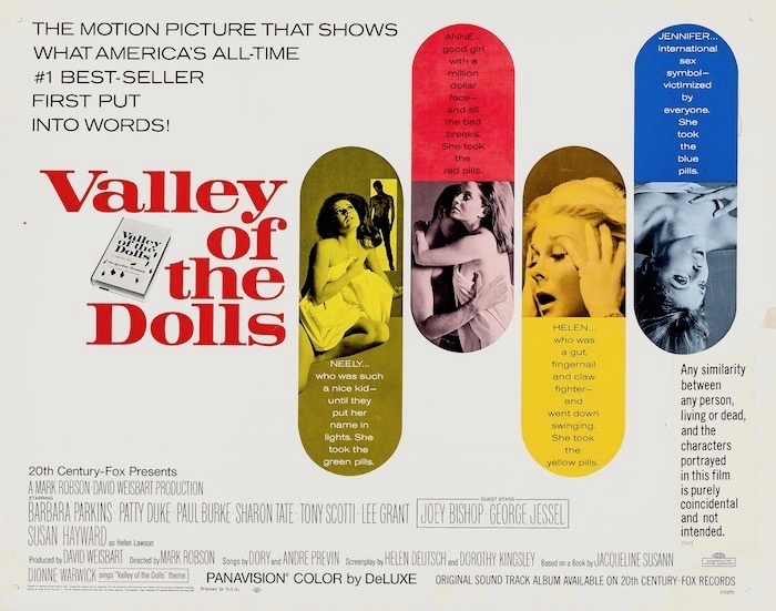 Valley Of The Dolls Original Vintage Movie Poster