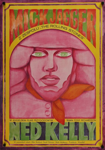 Ned Kelly Original Vintage Movie Poster