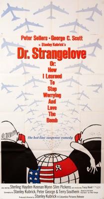 Dr Strangelove Vintage Movie Poster