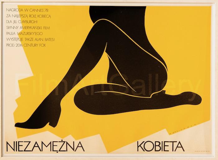 An Unmarried Woman Original Vintage Movie Poster