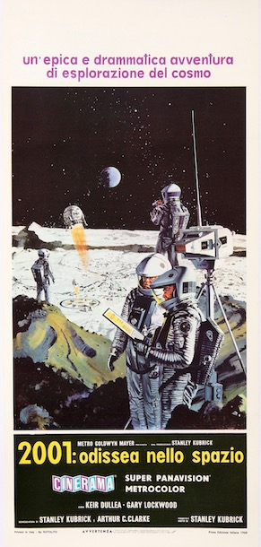 2001 A Space Odyssey Vintage Original Movie Poster