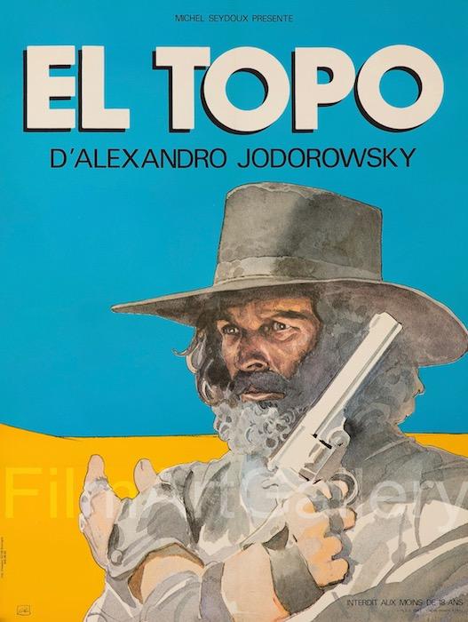 El Topo Original Vintage Movie Poster