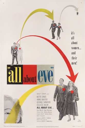 All About Eve Original Vintage Movie Poster