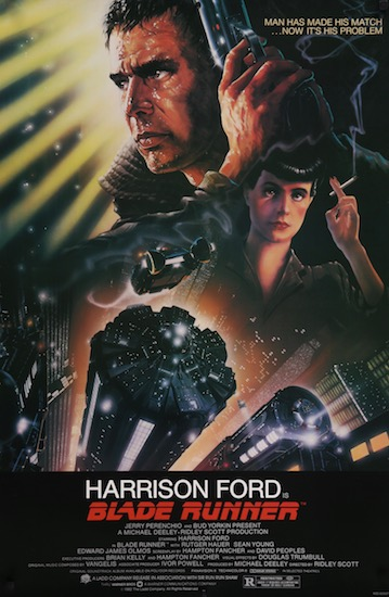 Harrison Ford Blade Runner Original Vintage Movie Poster