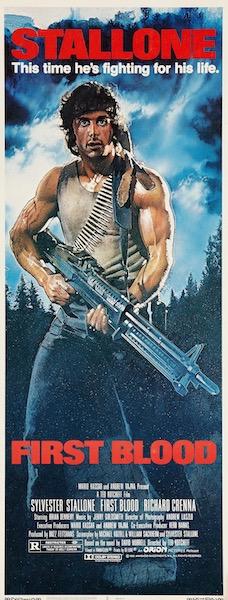 First Blood Original Vintage Movie Poster