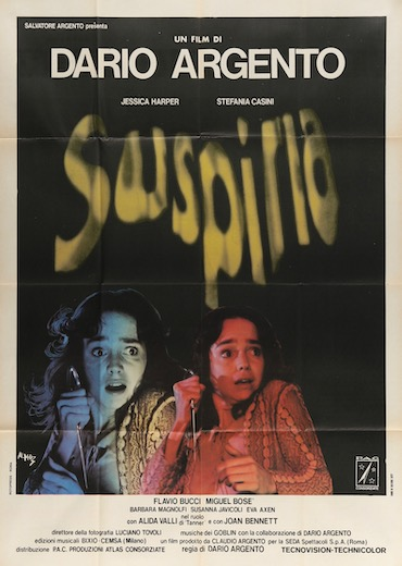 Suspiria Original Vintage Movie Poster