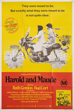 Harold And Maude Vintage Movie Poster