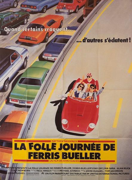 Matthew Broderick Ferris Buellers Day Off Original Vintage Movie Poster
