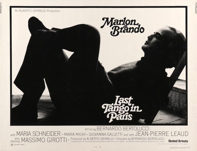 Bernardo Bertolucci Original Vintage Movie Poster