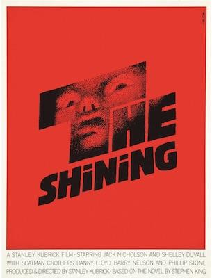 Saul Bass The Shining Original Vintage Movie Poster