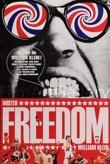 Mister Freedom Original Vintage Movie Poster