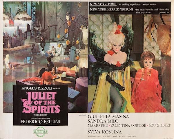 Juliet of the Spirits Giulietta Degli Spiriti Original Vintage Movie Poster