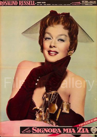 Auntie Mame Original Vintage Movie Poster