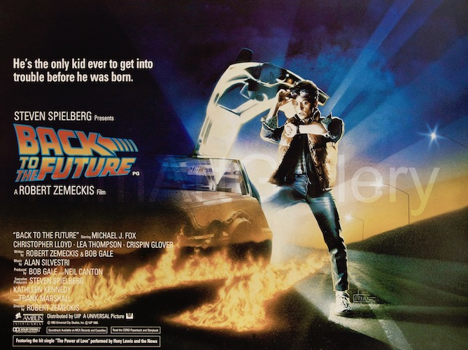 Back To the Future Original Vintage Movie Poster