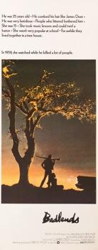 Badlands Original Vintage Movie Poster