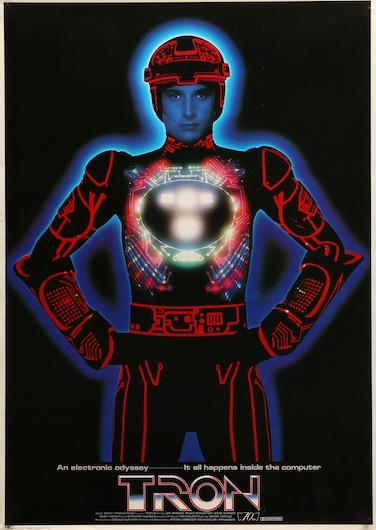 Tron Original Vintage Movie Poster