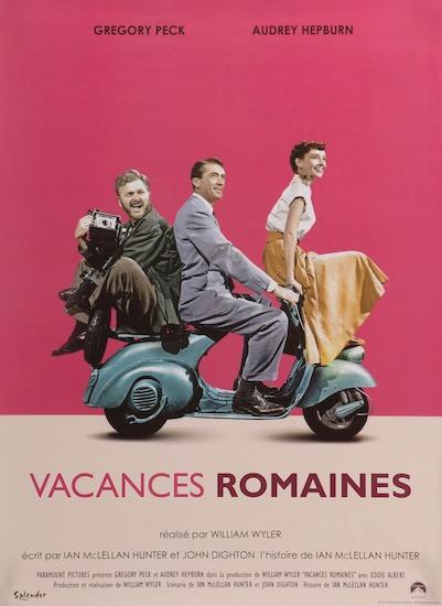 Audrey Hepburn Roman Holiday Original Vintage Movie Poster