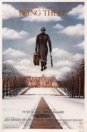 Peter Sellers Being There Original Vintage Movie Poster